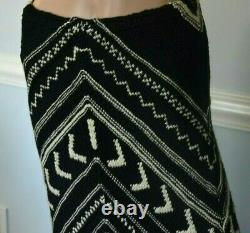 Ralph Lauren Collection Purple Label Embroidered Long Runway Skirt 10 12 / Large