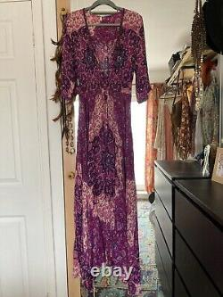 Spell And The Gypsy Kiss The Sky Violet Gown Size L