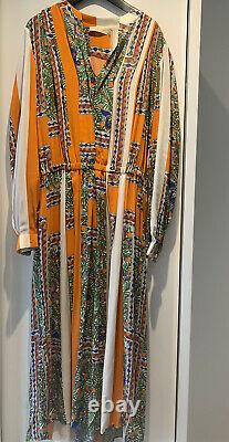 Tory Burch Maxi Floral print dress NEW With Tags Size US 10 / UK 14