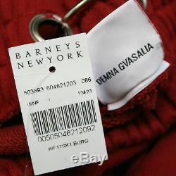 VETEMENTS Demna Gvasalia full length pierced ring maxi sweatshirt skirt L NEW