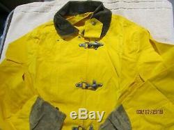 VTG Polo Ralph Lauren Fireman Coat Jacket Toggle L QUALITY