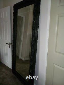Very Large Antique style Full Length Mirror 2mtrs (6'6)