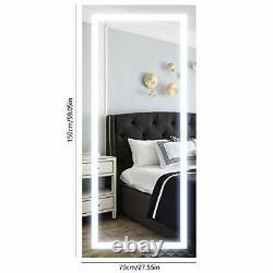 70cm X 150cm Grande Led Full Length Rétroéclairé Miroir- Miroir Dressing Surdimensionné