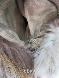 Alixandre Furs Blond Castor Pleine Longueur Sz Manteau De Fourrure L