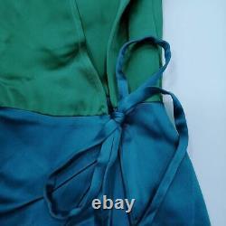 Attico Femme Maxi Robe L Couleur Vert