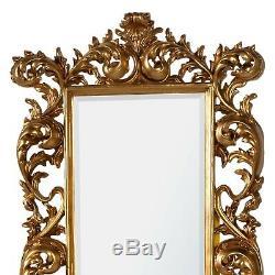 Baroque Grand Miroir Cadrage Or Décoratif Biseautées