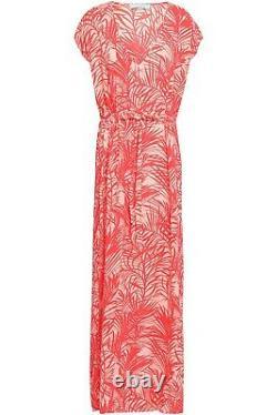 Bnwt £280 Grande Uk14 Melissa Odabash Delilah Maxi Robe
