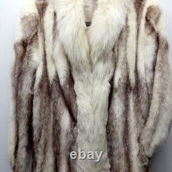 Christian Dior Fur Coyote Full Length Coat Grand