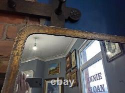 Cuivre Industriel Grand Plancher Debout Miroir Pleine Longueur 180cm