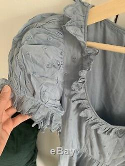 Doen Nima Robe Française Taille Bleu Large (10-14)
