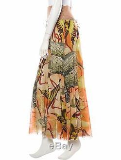 Élégant Jean Paul Gaultier Femme Jupe En Tissu Mesh Iconic