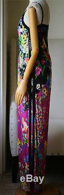 Etro Floral-print Crêpe De Chine Maxi Dress IL 44 Royaume-uni 12