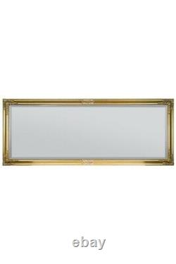 Extra Large Or Antique Vintage Full Length Mirror 6ft X 2ft4 180cm X 70cm