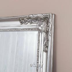 Extra Large Silver Mirror Ornate Wall Full Length Wall Home Décor 200cm X 100cm