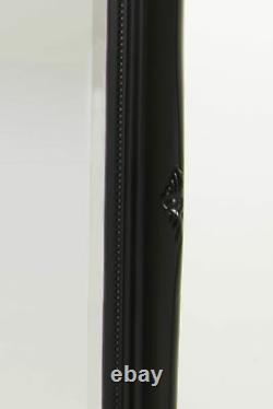 Extra Large Wall Mirror Black Antique Vintage Pleine Longueur 6ft7x4ft7 201 X 140cm