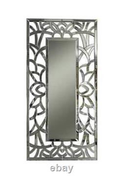 Extra Large Wall Mirror Modern All Glass Full Length 4ft10 X 2ft5 150 X 75cm