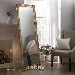 Florence Plein Longueur Ornée Ornée Miroir Suspendu Mural 163cm X 72cm
