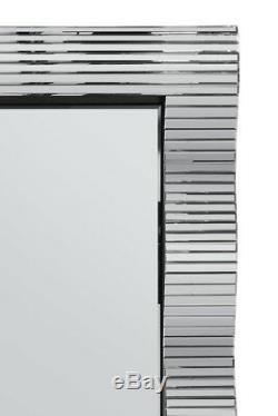Grand Beau Tout Miroir Verre Cadrage Mur Miroir 6ft7 X 201cm X 92cm 3ft