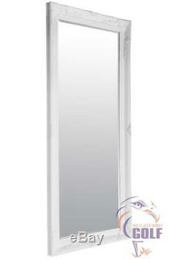 Grand Blanc Leaner Cadrage Mur Miroir 5ft7 X 2ftt7 (170cm X 79cm)
