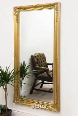 Grand Classique Ornement Cadrage Styled Or Miroir 5ft7 X 170cm X 79cm 2ft7