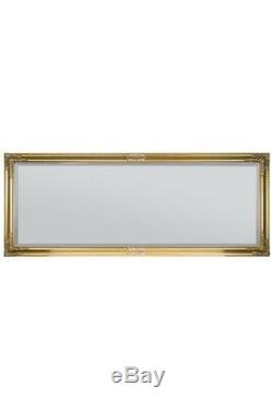 Grand Classique Ornement Cadrage Styled Or Miroir X 6 Pi 2ft4 180cm X 70cm