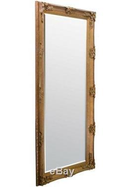 Grand Miroir Mural Abbey Or Shabby Chic Cadrage En Pied 5ft5 X 165cm X 78cm 2ft7