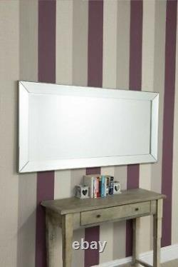 Grand Miroir Vénitien De Mur Long Leaner De Longueur Pleine Longueur 165cm X 78cm