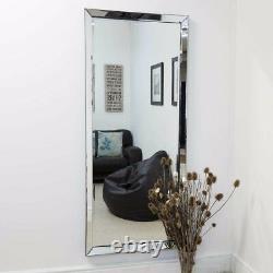 Grand Mur Moderne Sans Cadre Full Length Mirror Rectangle 5ft10 X 2ft6 178 X 76cm