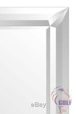 Grande Longueur Pleine Modena Triple Bevel Surround Miroir Mural 5ft5 X 2ft7