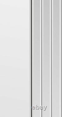 Grande Moderne Pleine Longueur Vénitienne Free Standing Cheval Mirror 5ft X 1ft4