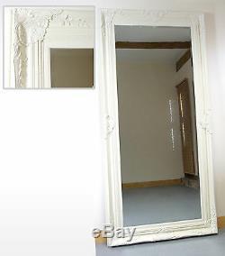 Harrow Extra Large Crème Rectangle Cadrage Mur Miroir 67 X 33