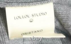 Loulou Studio En Laine Côtelée Col Tortue Robe Maxi Grande