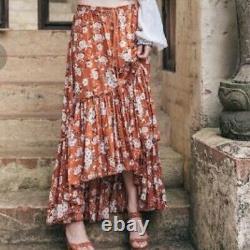 Magie & Le Collectif Gypsy Designs Gypsy Dancer Castaway Jupe Maple Sz L