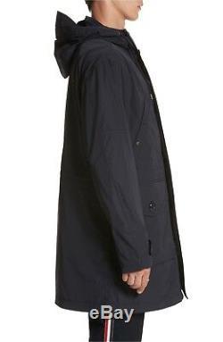Moncler Hommes Guiers Légère Pluie Manteau Long Vent Des Tn-o Taille 4 995 $ Grand Navy