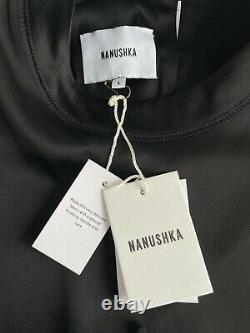 Nanushka Noir Satin Taille L