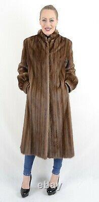 Nous2198 Belle Femme Fermier Mink Fur Coat Veste Taille L Nerzmantel