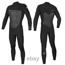 Oneill Epic 3/2mm Mens Chest Zip Wetsuit Full Length Wetsuit 2021 Noir