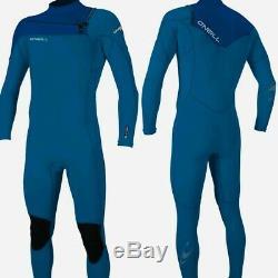 Oneill Hommes Marteau Poitrine Zip 3/2 Wetsuit Cadrage En Pied Wetsuit Bleu / Marine 2020