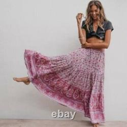 Orthographe Jasmine Maxi Jupe Lilac Imprimé Taille Grande