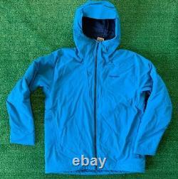 Patagonie Masculine Des T.n.-o. Stretch Nano Storm Jacket Balkan Blue Insulated Waterproof L