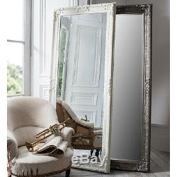 Pembridge Grand Antique Argent Longueur Plein Leaner Mur Sol Miroir 75 X 32