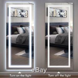 Philwin 55x120cm Grand Led Longueur Pleine Backlit Miroir- Surdimensionné Grand Miroir