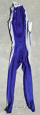 Rare Speedo Fs2 Backstroke Bodyskin Pleine Longueur De Jambe! Blue Ll-brand Nouveau Dans La Boîte