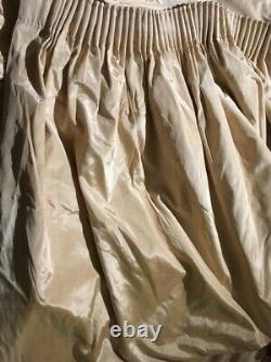 Rideaux Jacquard Pinch Pleat Grande Taille Pleine Longueur