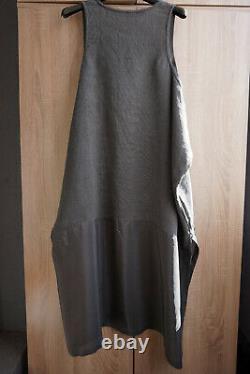 Rundholz Linge De Marque Noire & Robe Lagenlook En Soie Taille L