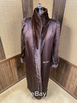 Salon De La Fourrure Amazing Macy 50 Cadrage Brown Ranch Mink Coat Fur Grand 10 12
