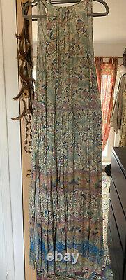 Spell And The Gypsy Oasis Maxi Robe Taille L Bnwot