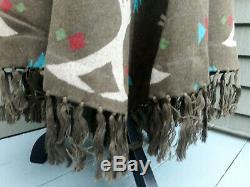 Tasha Polizzi Femmes Teal Cheyenne Tipi Jupe Taille Lg 198 $ Pdsf Tn-o