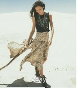 Tn-o Magie & Le Collectif Gypsy Designs Aloha Python Imprimé Serpent Maxi Jupe L