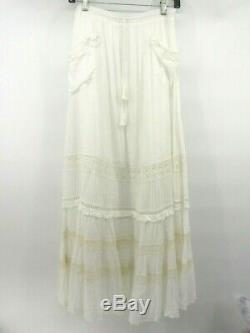 Tn-o Sort & Et Gypsy Collective Hanging Rock Maxi Jupe-au L